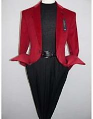 Stylish Red Blazer And Suits For Mens