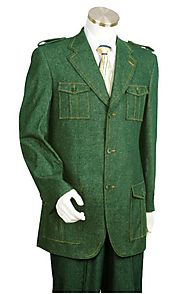 Get Cutting Edge Personality With Mens Green Blazer