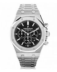 Replica Audemars Piguet Royal Oak Chronograph Black Dial Men's Watch 26320st.oo.1220st.01