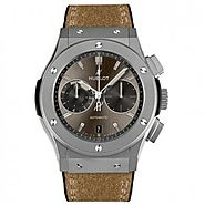 Luxury Replica Hublot Classic Fusion Chronograph Chukker Titanium Mens Watch 537.NI.7417.VR For Sale