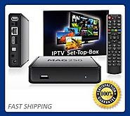 Enjoy live IPTV Streams with MAG 250 Box