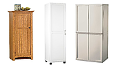 Best Portable Free Standing Broom Closet Cabinet