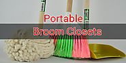 Best Portable Free Standing Broom Closets and Cabinets - Need It Info