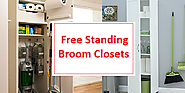 Best Free Standing Broom Closet - Broom and Mop Storage Cabinets - Finderists