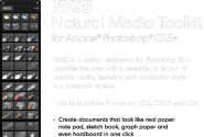 NKS5 Natural Media Toolkit for Photoshop CS5 - CS6 | nkurence/blog