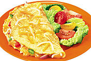 Easy Cheese Omelette Recipe