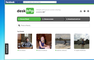 deskhop: simple and secure screen sharing with friends on Facebook