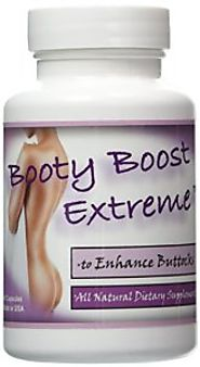 Booty Boost Extreme All Natural Butt Enhancement Pill Get a Bigger Butt (1 Bottle)