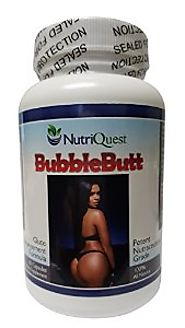 Bubble Butt Enhancement | Enlargement Capsules (1 Bottle)