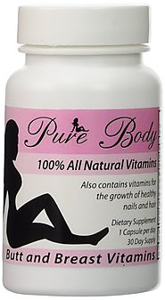 PureBody Vitamins - Butt and Breast Growth Pills - All-In-One Formula