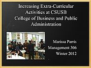 Example of a case study about increasing extracurricular activities
