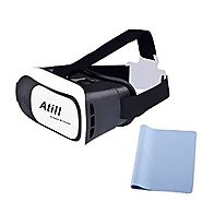 Atill 3D VR Virtual Reality Headset 3D Glasses For 3D Movies and Games(Focal and Pupil Distance Adjustable Headset fo...