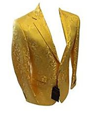Get The Modern Collections Of Gold Men Blazer- MensItaly