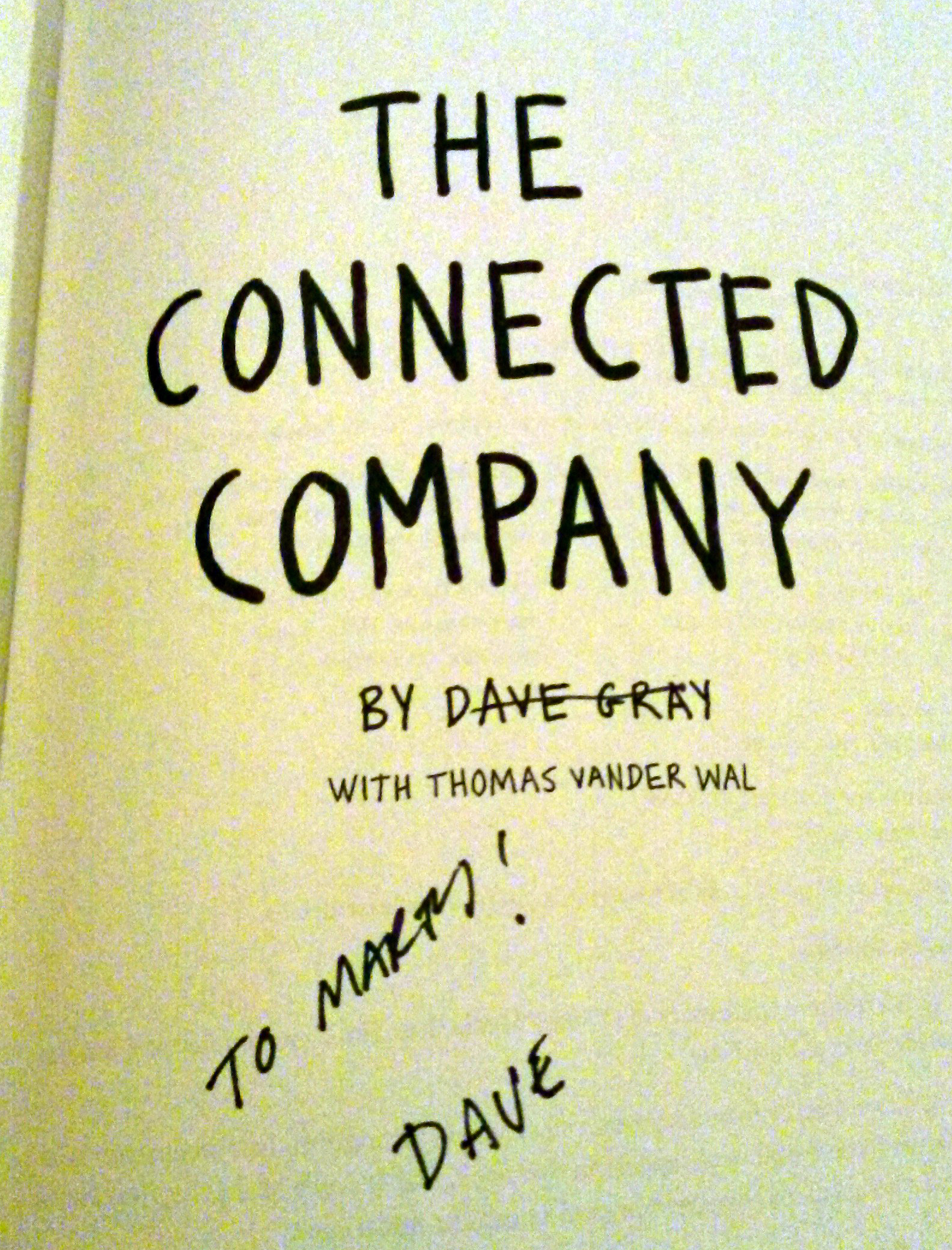 Creativity Central - Creativity Central - Get Connected: Dave Gray and Connected Company