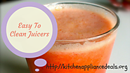 Top Rated Easy To Clean Juicers
