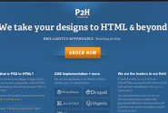 PSD to HTML, WordPress, Drupal, Magento & others - PSD2HTML®