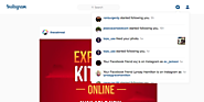 Instagram's new notification tab for the Web has Facebook's fingerprints all over it