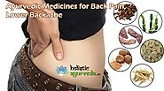 Ayurvedic Medicines for Back Pain, Lower Backache