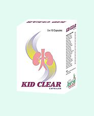 Ayurvedic Herbal Kidney Stone Removal Treatment, Kid Clear Capsules
