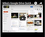 Classroom Games and Tech: My Google Drive Quick Tips