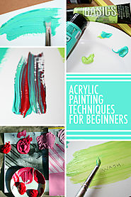 13 Must- Know Acrylic Painting Techniques for Beginners