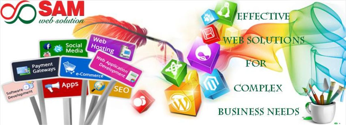 Headline for Web Development, Web Designing, Graphic Designing and Digital Marketing Services Provider