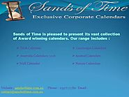 Sands of Time- Calendar Online in Australia