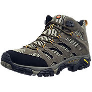 Buy Merrell Moab Mid Gtx, Mens High Rise Hiking Shoes