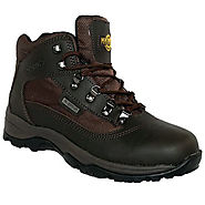 Buy Mens Leather Waterproof Walking/Hiking Trekking Boot