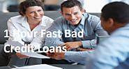 1 Hour Fast Bad Credit Loans- Desirable Money Help for People Suffering from Poor Profile