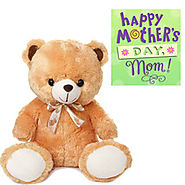 Teddy with Mothers Day Card