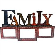 Family Wooden Photo Frame