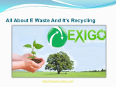 Impact Of E waste On Environment