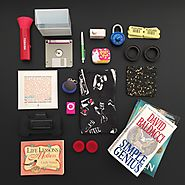 Minimalist game day 10. 10 items each 20 total. Featured item pink iPod mini.