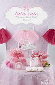 Tutu Cute Baby Shower Ideas