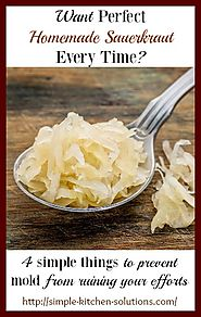 4 Simple Ways to Prevent Mold on Homemade Sauerkraut