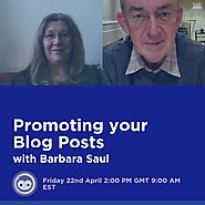 Promoting your Blog Posts with Barbara and Steven
