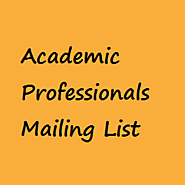 Academic Professionals Database