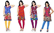 Most loved attire for women-Kurtis
