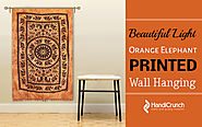 Elephant Printed Wall Hanging Tapestry