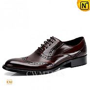 CWMALLS Italian Leather Oxford Shoes CW716228