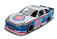 Chicago Cubs Major League Baseball Hardtop Diecast Car, 1:64 Scale
