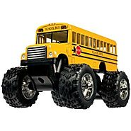 Toysmith Monster Bus (5-Inch)
