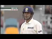 Sachin tendulkar LBW but Cant beleive the way its given by Umpire Bucknor
