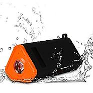 KMASHI Outdoor Waterproof Bluetooth Speakers, Bicycle Wireless Speaker with 35 Hours of Playtime for All Bluetooth-En...