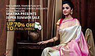Matka Silk Sarees for Online Shopping