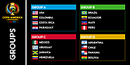 Copa America 2016 Groups and Group Stage Draw Info : Copa 2016 - Copa America 2016 Live Online