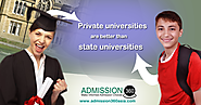 Why private universities are better then state universities?