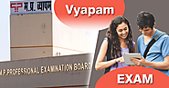 Vyapam entrance test for agriculture and horticulture