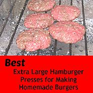 Website at http://ketosisdiet.org/extra-large-hamburger-press/